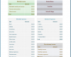 Free Printable Budget Template For College Students