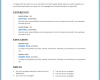 Free Printable Chronological Resume Template