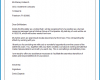 Formal Letter Of Resignation Template