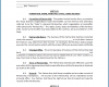 Free Printable Partnership Agreement Template
