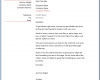 Free Printable Word Business Letter Template