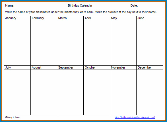 2 Week Calendar Template Sample