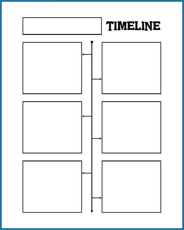 Blank Timeline Template Sample