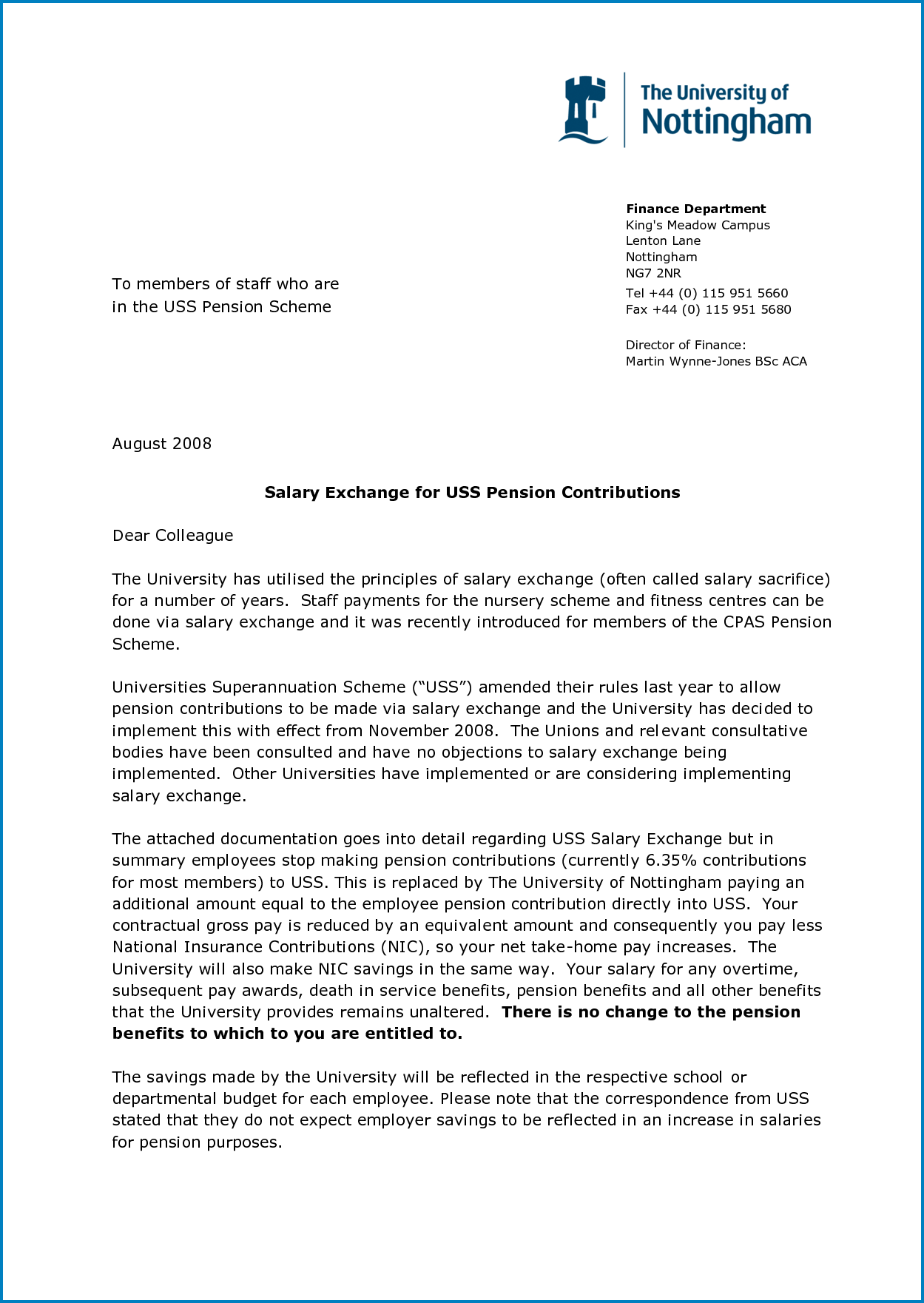 Business Letter Template Word Example