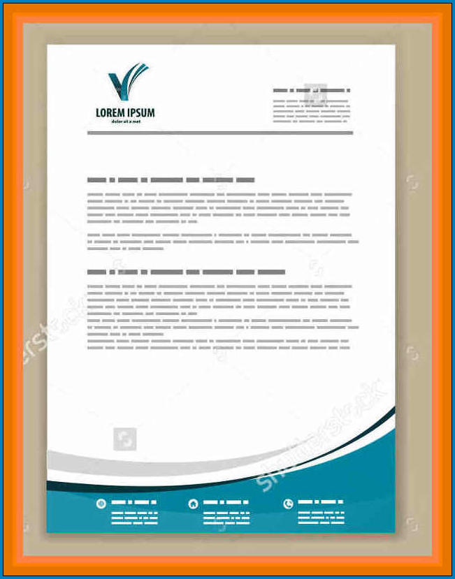 Business Letterhead Design Example