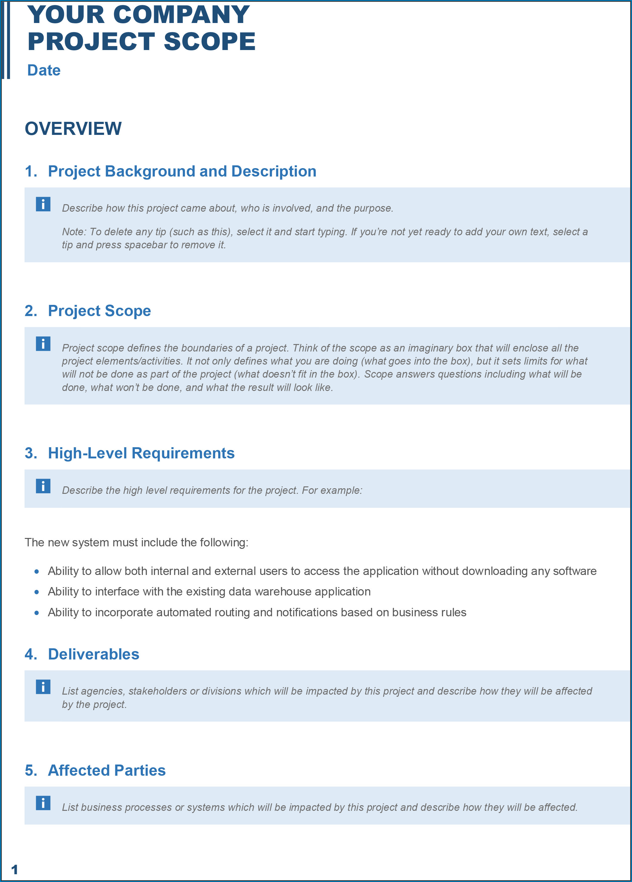 Business Plan Template Word Sample