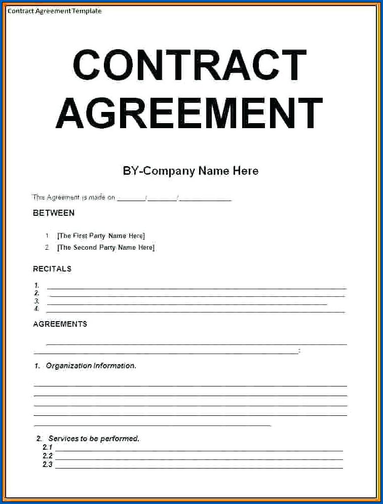 Contract Templates