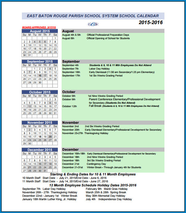 Event Schedule Template Sample