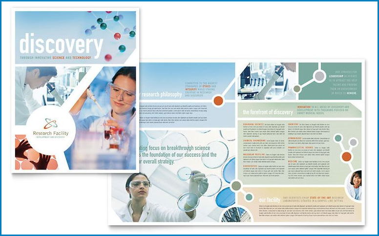 Example of Brochure Template Word
