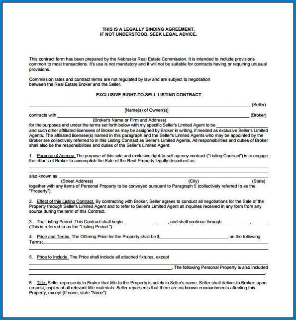 Example of Legally Binding Contract Template