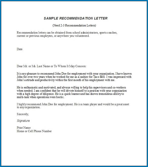 References Letter For Employment from www.templateral.com