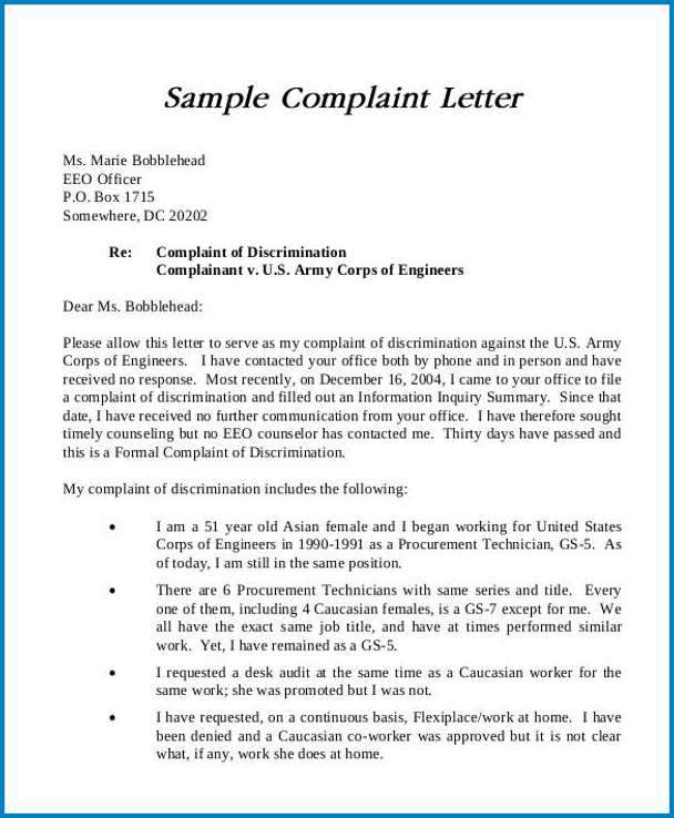 Sample Letter Of Disappointment To Employer from www.templateral.com
