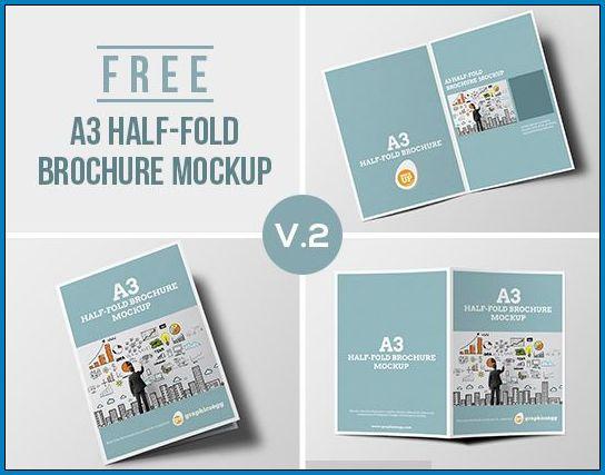 Half Fold Brochure Template Example