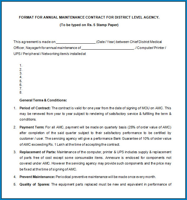 Free Editable Legally Binding Contract Template