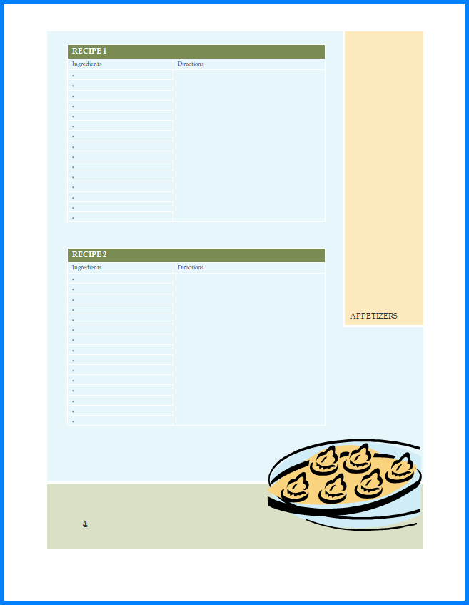 Recipe Template Microsoft Word from www.templateral.com