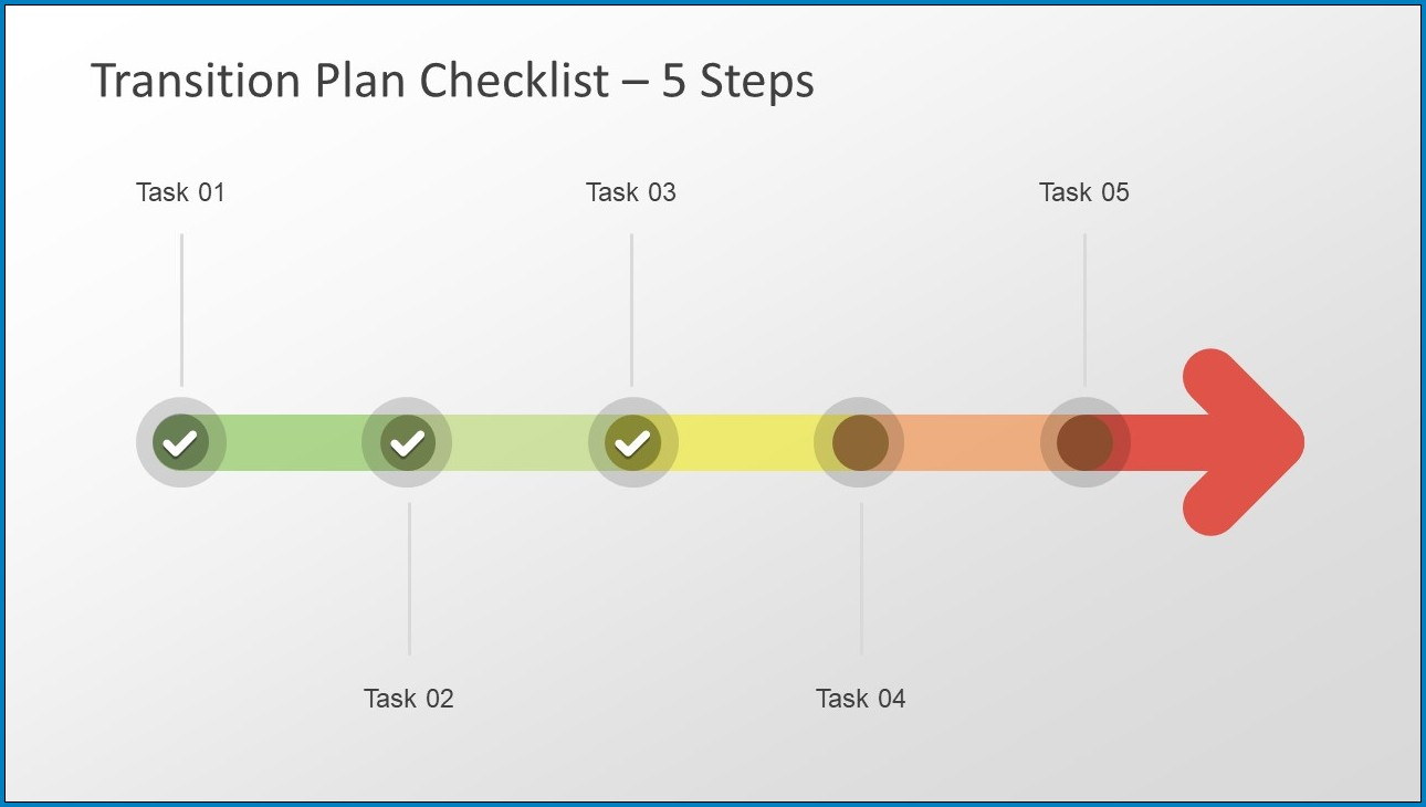 Sample of 5 Year Plan Timeline Template