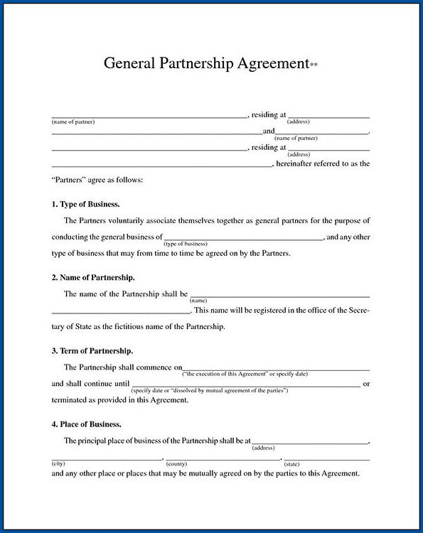 Sample of Business Contract Template