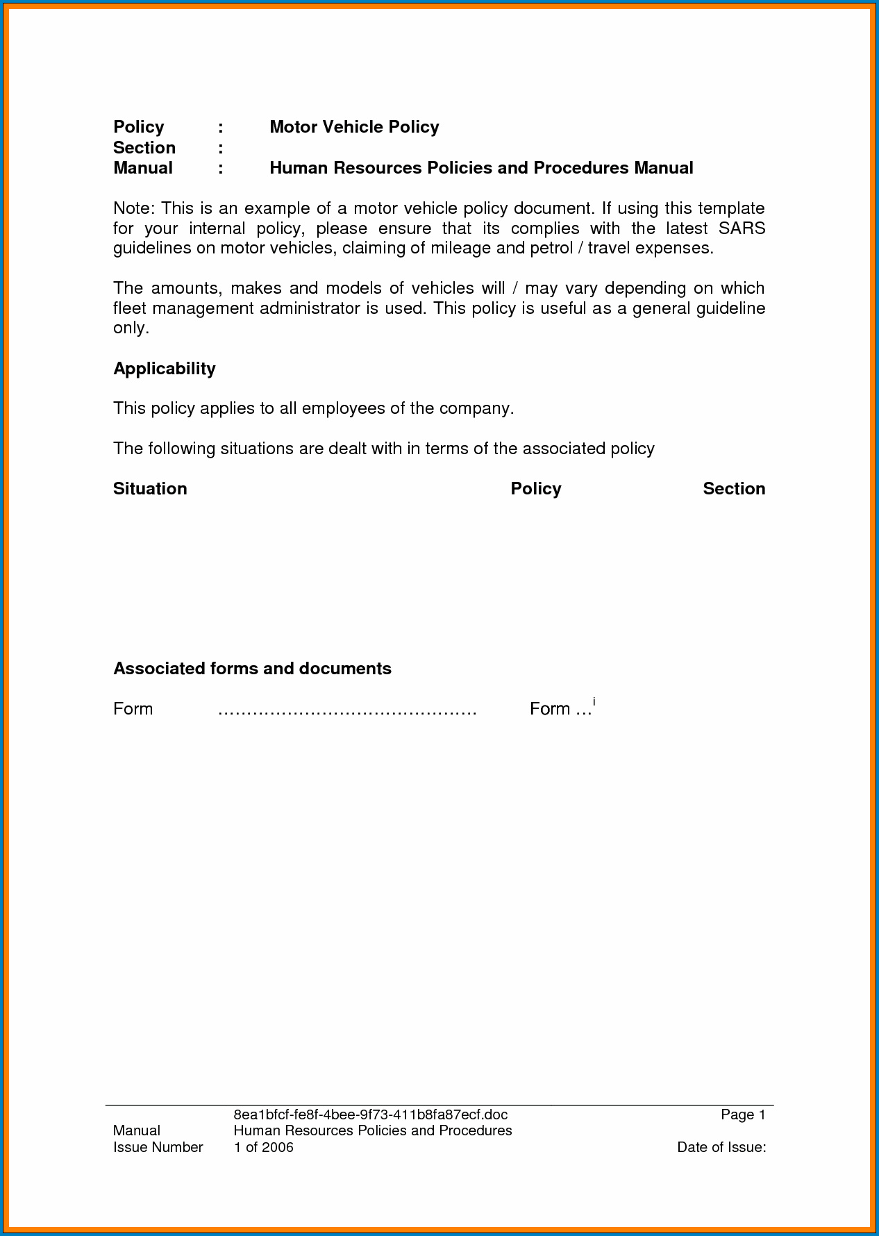 Sample of Take Over Car Payments Contract Template