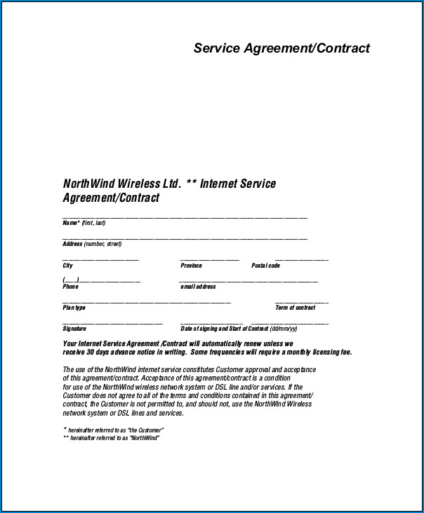 Sample Contract Letter For Services from www.templateral.com