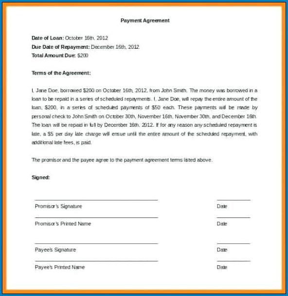 Free Printable Take Over Car Payments Contract Template Templateral